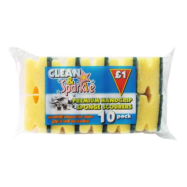 10 Sponge scourers