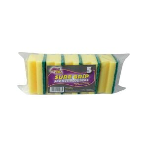 Squeaky Clean Sure Grip Sponge Scourers