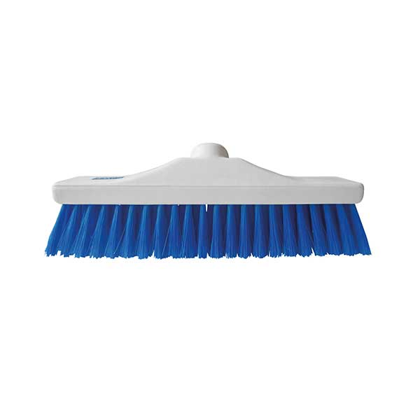 30cm colour coded broom soft
