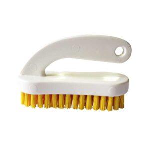 deluxe nail brush yellow bristles
