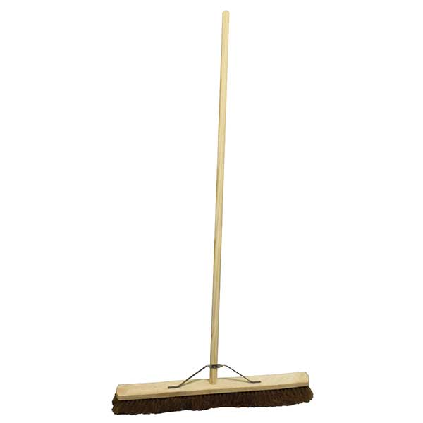 Coco wooden sweeping broom