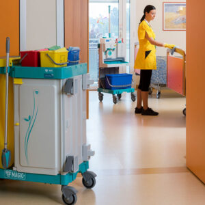 Premium Janitorial Trolley Systems