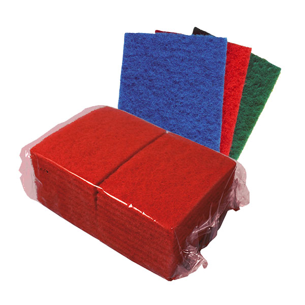 colour coded scouring pad